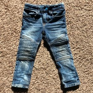 H&M Moto Skinny Toddler Jeans 2T